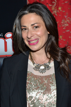 <i>What Not to Wear</i> star Stacy London is among the evening's celebrants.<br />(© David Gordon)