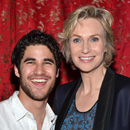 Glee Stars Darren Criss, Chris Colfer, and More Welcome Jane Lynch to Broadway in Annie
