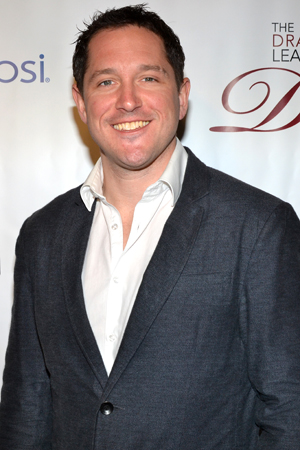 Bertie Carvel, Distinguished Performance Award for <i>Matilda</i>.<br />(© David Gordon)