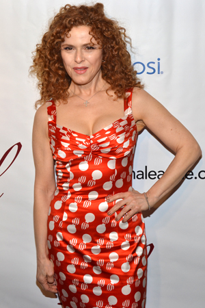 Bernadette Peters, recipient of the Distinguished Achievement in Musical Theatre Award.<br />(© David Gordon)