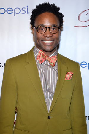 Billy Porter, a Distinguished Performance Award nominee for <i>Kinky Boots</i>.<br />(© David Gordon)