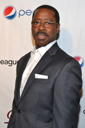 Courtney B. Vance, a Distinguished Performance Award nominee for <i>Lucky Guy</i>.<br />(© David Gordon)