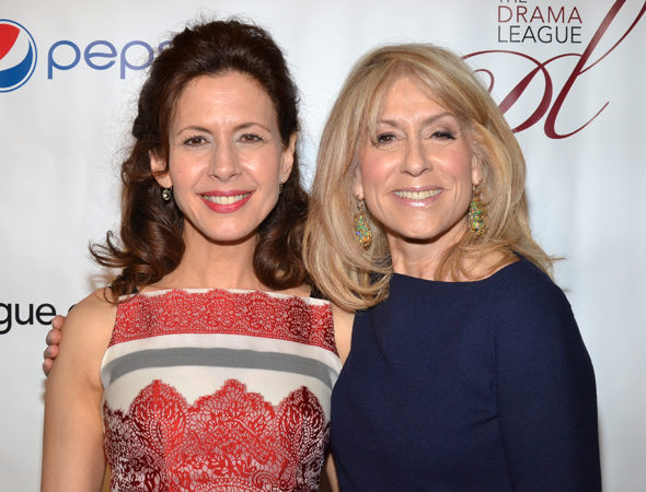 Jessica Hecht and Judith Light, Distinguished Performance Award nominees for <i>The Assembled Parties</i>.<br />(© David Gordon)