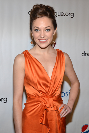 Laura Osnes, Distinguished Performance Award nominee for <i>Cinderella</i>.<br />(© David Gordon)