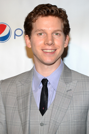 Stark Sands, Distinguished Performance Award nominee for <i>Kinky Boots</i>.<br />(© David Gordon)