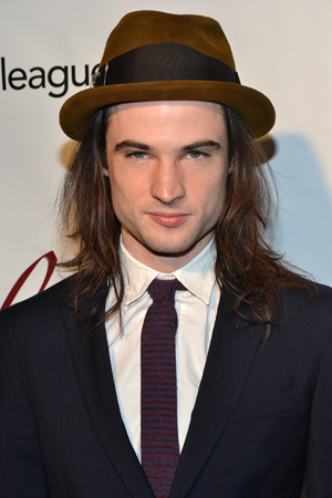 Tom Sturridge, Distinguished Performance Award nominee for <i>Orphans</i>.<br />(© David Gordon)