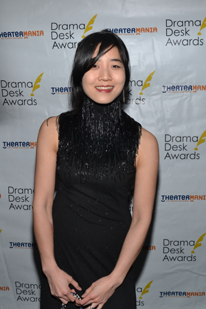 Set Designer Mimi Lien is nominated for her work on Playwrights Horizons' <I>The Whale</I>.<br />(© David Gordon)