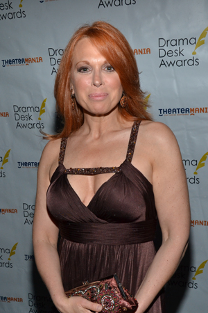 Carolee Carmello is nominated for Outstanding Actress in a Musical for her bravura performance as evangelist/scam artist Aimee Semple McPherson in <I>Scandalous</I>.<br />(© David Gordon)
