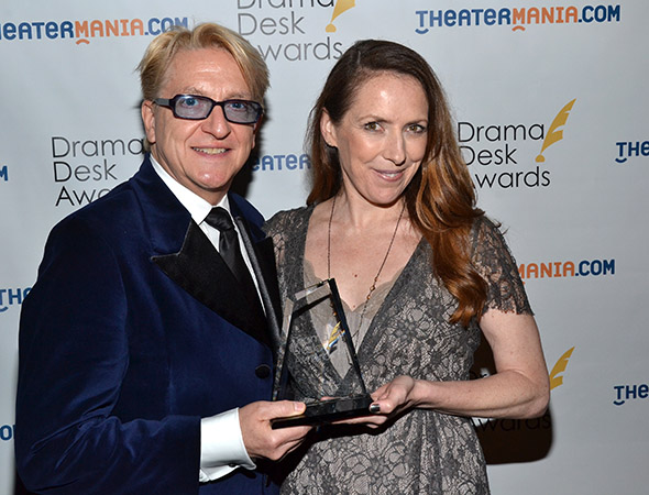 Chet Walker and Gypsy Snider, Outstanding Choreography for <i>Pippin</i>.<br />(© David Gordon)