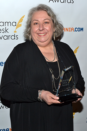 Jayne Houdyshell, a special award winner for
