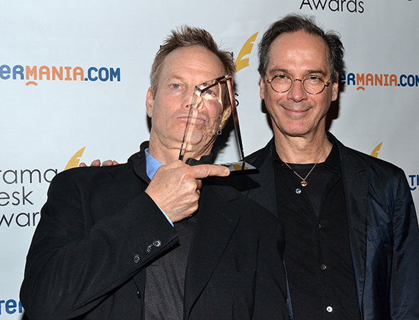 Bill Irwin and David Shiner, Outstanding Revue winners for <i>Old Hats</i>.<br />(© David Gordon)