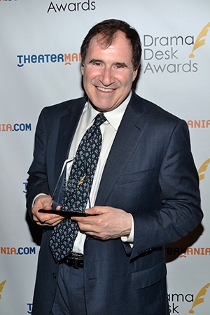 Richard Kind, Outstanding Featured Actor in a Play for <i>The Big Knife</i>.<br />(© David Gordon)