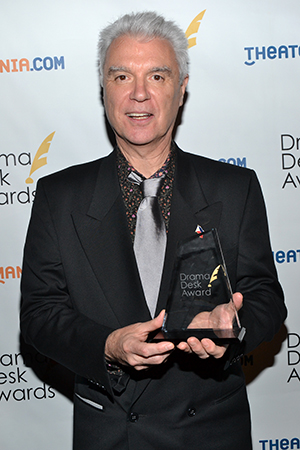 David Byrne, Outstanding Music for <i>Here Lies Love</i>.<br />(© David Gordon)