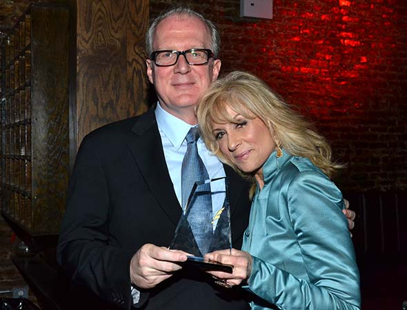 When will 2013 Drama Desk Award winners Tracy Letts and Judith Light star in a show together?<br />(© David Gordon)
