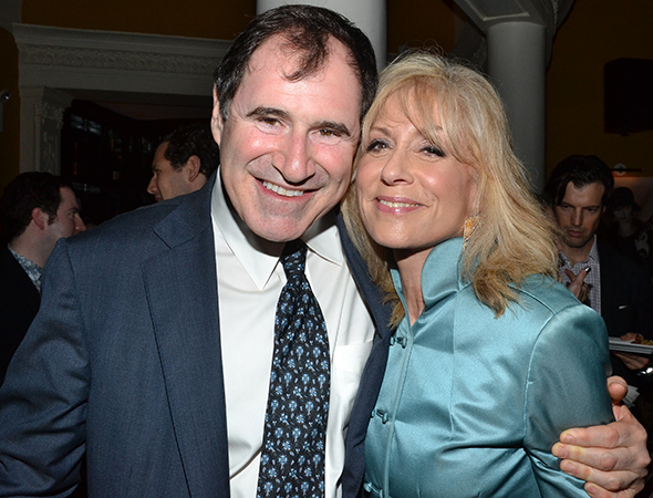 Richard Kind and Judith Light are 2013's Outstanding Featured Actor and Actress in a Play.<br />(© David Gordon)