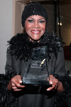 Cicely Tyson, Outstanding Lead Actress in a Play for <i>The Trip to Bountiful</i>.<br />(Photo courtesy of The Hartman Group)
