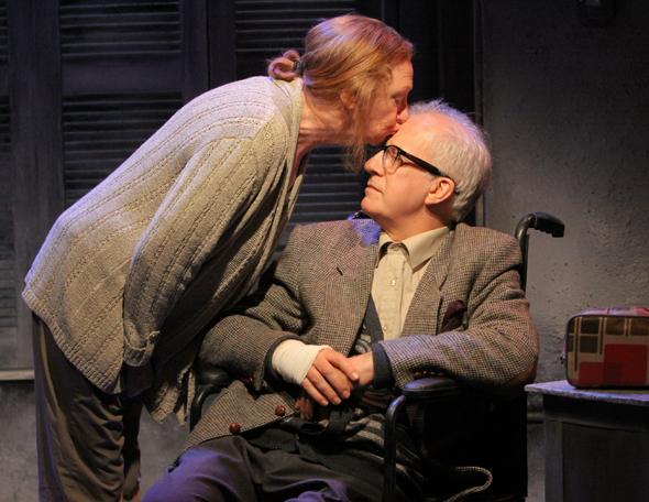 Anita Reeves and Stephen Brennan in <i>These Halcyon Days</i>