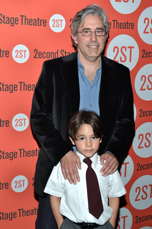 As his date for the evening, Paul Weitz brought his young son, Max.<br />(© David Gordon)