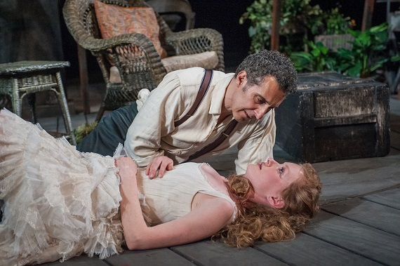 John Turturro and Wrenn Schmidt in <i>The Master Builder</i>