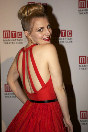 2013 Tony Award nominee Annaleigh Ashford was on hand to perform from <i>Kinky Boots</i>.<br />(© Christopher Gower Johnson)
