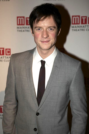 Matthew James Thomas was on hand to present a number from <i>Pippin</i>, in which he plays the title role.<br />(© Christopher Gower Johnson)