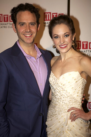 2013 Tony Award nominees Santino Fontana and Laura Osnes are the stars of Broadway's <i>Cinderella</i>.<br />(© Christopher Gower Johnson)