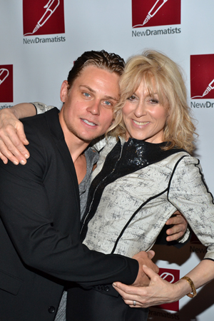 Billy Magnussen and Judith Light can't get enough of each other.<br />(© David Gordon)