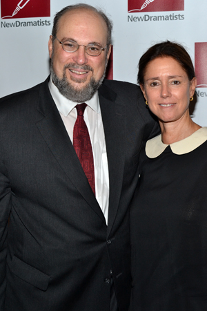 Honoree Seth Gelblum shares a photo with legendary director Julie Taymor.<br />(© David Gordon)