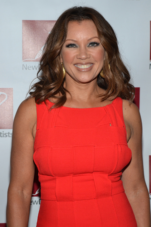 <i>The Trip to Bountiful</i>'s Vanessa Williams is stunning in red.<br />(© David Gordon)