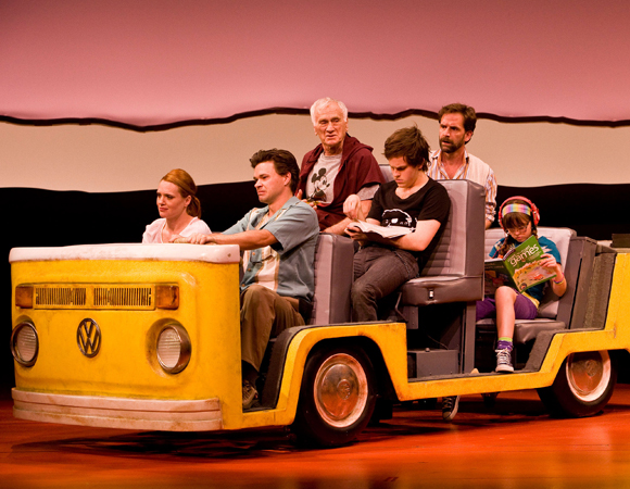 A scene from the La Jolla Playhouse production of <i>Little Miss Sunshine</i>.