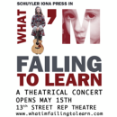 Schuyler Iona Press to Star in <i>What I'm Failing To Learn</i> at 13th Street Rep