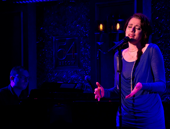 Judy Kuhn shares a song from her upcoming engagement at 54 Below.<br />(© David Gordon)