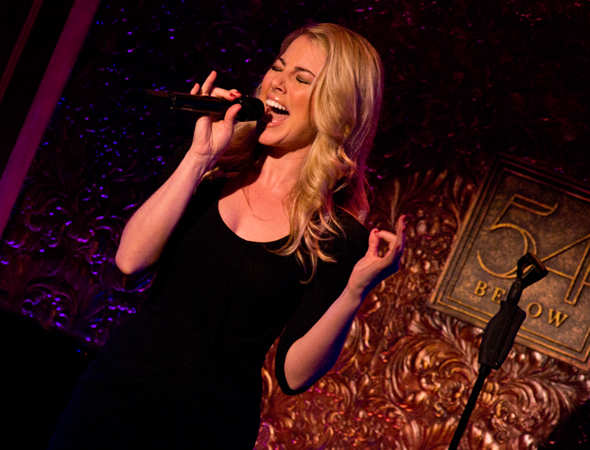 Morgan James will return to 54 Below on June 3 and 17, and July 15.<br />(© David Gordon)