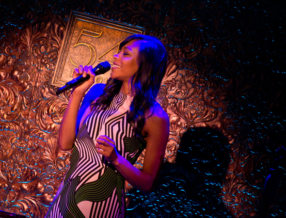 Nikki M. James will appear at 54 Below on June 23 and 24.<br />(© David Gordon)