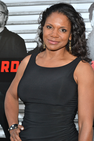 Five-time Tony Award winner Audra McDonald is on hand to support her hubby, <i>Murder Ballad</i> star Will Swenson.<br />(© David Gordon)