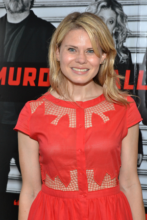 Two-time Tony nominee Celia Keenan-Bolger, who will next be seen on Broadway in <i>The Glass Menagerie</i>, is excited to cheer on her husband, John Ellison Conlee, on his opening night.<br />(© David Gordon)