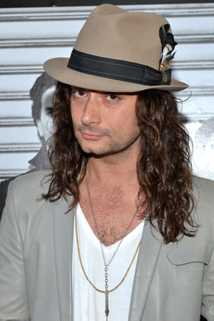 Constantine Maroulis adds another opening night feather to his cap.<br />(© David Gordon)