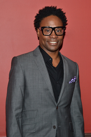 Billy Porter, Outstanding Lead Actor in a Musical winner for his work as fabulous drag queen Lola in <i>Kinky Boots</i>.<br />(© David Gordon)