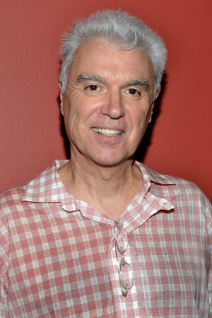 David Byrne, the cocreator of <i>Here Lies Love</i>, which was named Outstanding New Off-Broadway Musical.<br />(© David Gordon)