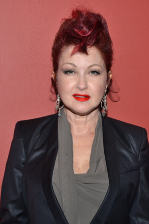 Cyndi Lauper is the winner of the Outstanding New Score award for her musical, <i>Kinky Boots</i>.<br />(© David Gordon)