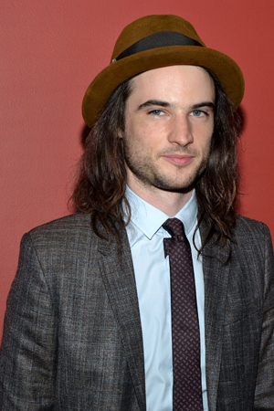 Tom Sturridge, Outstanding Featured Actor in a Play winner for his performance as Phillip in <i>Orphans</i>.<br />(© David Gordon)