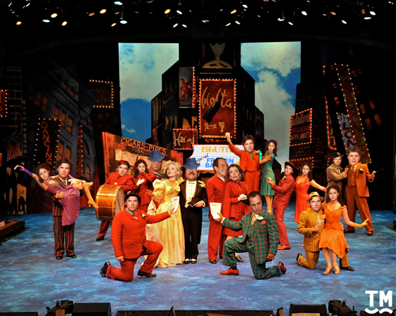 The cast of <i>Arrested Development</i> in <i>Guys and Dolls</i>.