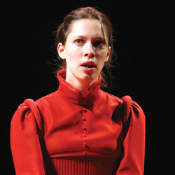 Rebecca Hall in <i>As You Like It</i>.