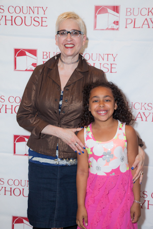 <i>Really Rosie</i> director Marcia Milgrom Dodge and 8-year-old lead Grace Capeless.<br />(© Seth Walters)
