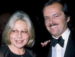 Sue Mengers with Jack Nicholson