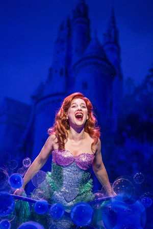 Jessica Grové stars as Ariel in <i>The Little Mermaid</i>.<br />(© Billy Bustamante)