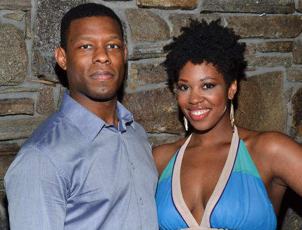 Korey Jackson and Marinda Anderson costar in a number of roles.<br />(© David Gordon)