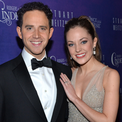 Santino Fontana and Laura Osnes