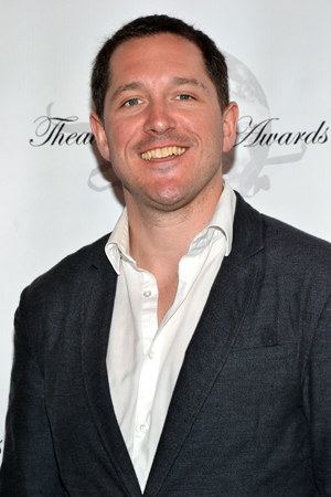 Bertie Carvel receives a 2013 Theatre World Award for his Broadway debut performance as Miss Trunchbull in <i>Matilda</i>.<br />(© David Gordon)