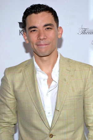 For his performance as Ninoy Aquino in <i>Here Lies Love</i>, Conrad Ricamora receives a 2013 Theatre World Award.<br />(© David Gordon)